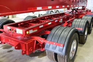 Trail King low profile hydraulic front steerable dolly, Trail King Industries Inc